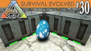 Hatch a t rex egg lets play ark survival evolved single player ark survival evolved incubator room level 200 hatching e30 malvernweather Image collections