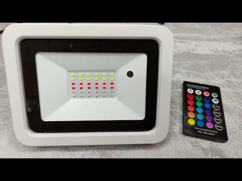 RGB светодиодный прожектор 50W RGB LED Spotlight
