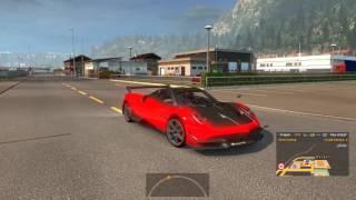 Euro Truck Simulator 2 - Tậu siêu xe Pagani Huayra BC và thử tốc độ tối đa | ND Gaming