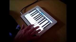 Music Studio for iPad..How to Make Your Own Instrument