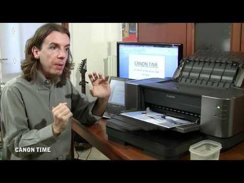 Ep.10 - CANON PIXMA IX7000 - STAMPANTE INKJET A3 NON TEME L'ACQUA - CANON TIME -