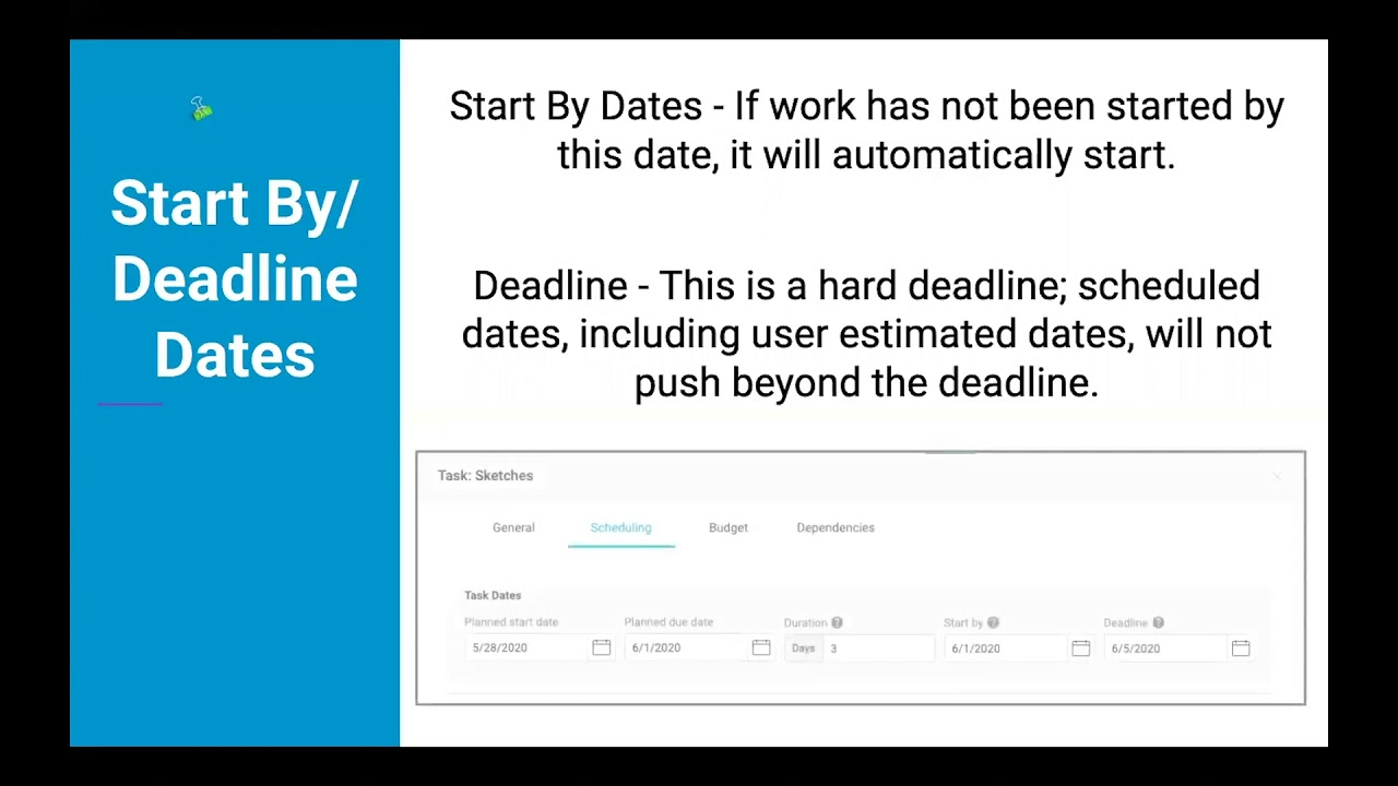 Understanding Project Plans & Schedules in Accelo, Part 2: Project Dates