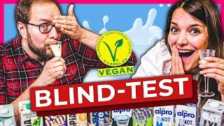 Welcher Pflanzendrink wie Milch schmeckt #vegan