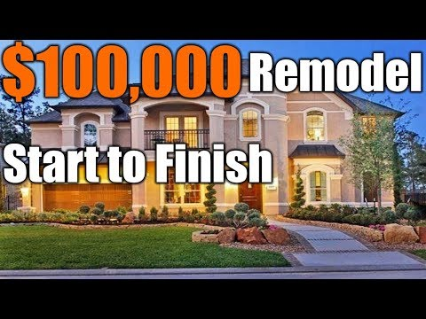 $100,000 Remodel Start To Finish | THE HANDYMAN |