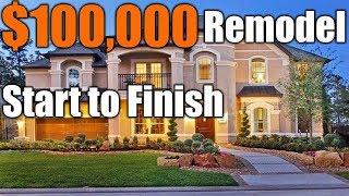 $100,000 Remodel Start To Finish | THE HANDYMAN |