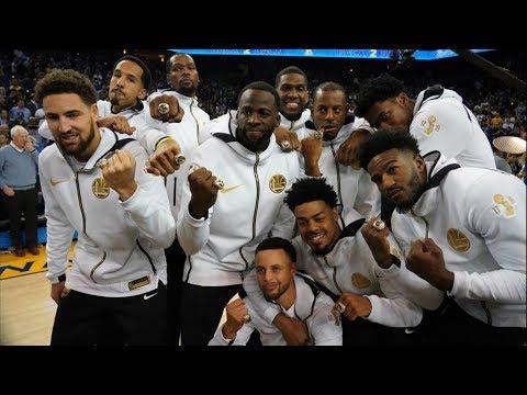 Warriors Championship Rings! Thunder Balling No Westbrook! 2018-19 NBA Season