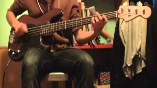 anti-flag - mind the gatt - bass cover