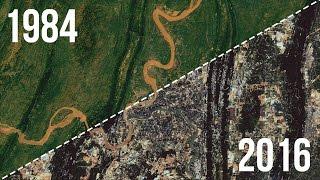 Как за 32 года изменилась Земля