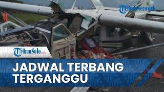 Pesawat Kargo Smart Air Tergelincir di Papua, Jadwal Penerbangan Terganggu