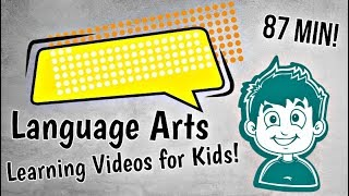 Language Arts Learning Videos For Kids   Nouns, Verbs And More!