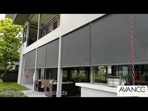 Avance outdoor blinds