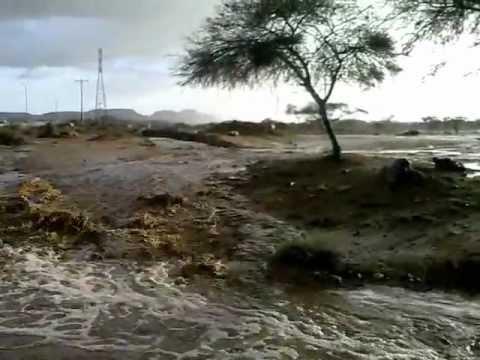 سيول و أمطار احدرفيده 9 – 6 – 1433