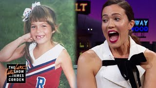 Mandy Moore & Jenna Dewan Have Killer Cheerleading #TBTs