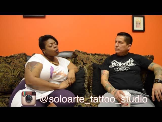 Thickly Tat'd Tattoo Invasions: Soloarte Tattoo