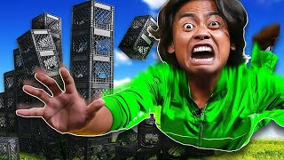 Do Not Fall Off The TOWER OF CRATES!