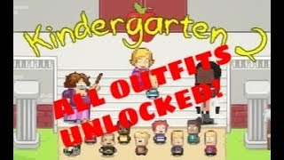 Fashionista! | Kindergarten 2 - ALL OUTFITS UNLOCKED