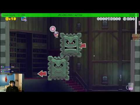 Super Mario Maker 2: King Skipsqueak's Ghost House