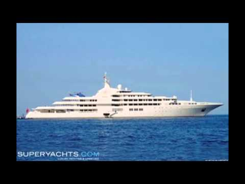 THE WORLD'S TOP 5 MOST EXPENSIVE YACHTS
