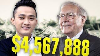 Tron Founder Strikes ABSURD DEAL With Warren Buffet