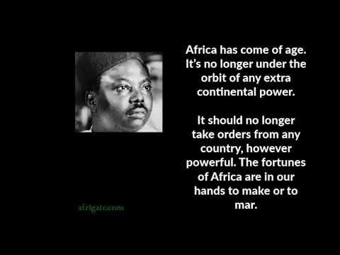 Great and Historic African  Speeches 1: Africa has come of age by Murtala Muhammed