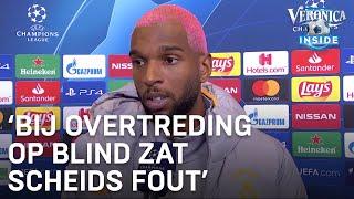 Ajax-supporter Babel: 'Scheids zat fout bij overtreding op Blind' | CHAMPIONS LEAGUE