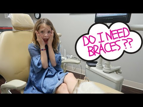 Addy's FIRST Orthodontist Appointment !!!