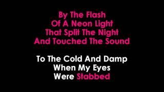 Disturbed   Sound of Silence karaoke