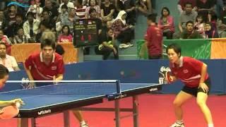 TENNIS MEJA GANDA CAMPURAN INDONESIA VS VIETNAM SEA GAMES 2011