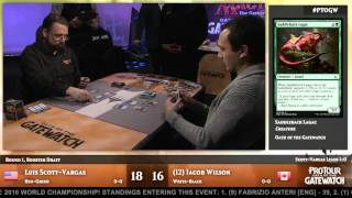 Pro Tour Oath of the Gatewatch Round 1 (Draft): Luis Scott-Vargas vs. Jacob Wilson