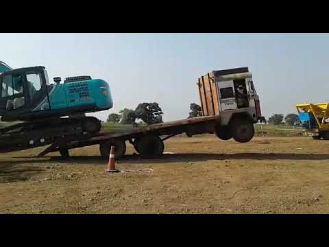 kobelco excavator SK220 XD LC - BHOJPURI WORLD - Video
