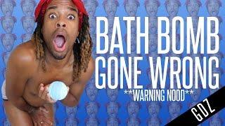 BATH BOMB GONE WRONG!! #OMG