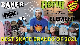 What Are The Best Skateboard Brands in 2021?