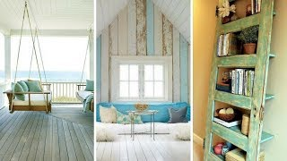 🌊 5 Cute Shabby Chic Beach Style Décor Ideas You Should Try Without Spending A Fortune 🌊