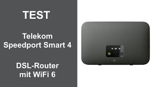Test: Telekom Speedport Smart 4 DSL-Router mit WiFi 6