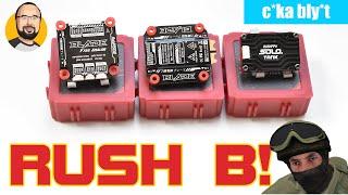 Rush Blade F722, Rush Blade ESC and Rush Tank Solo VTX
