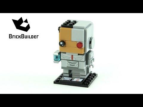 Vidéo LEGO BrickHeadz 41601 : Cyborg