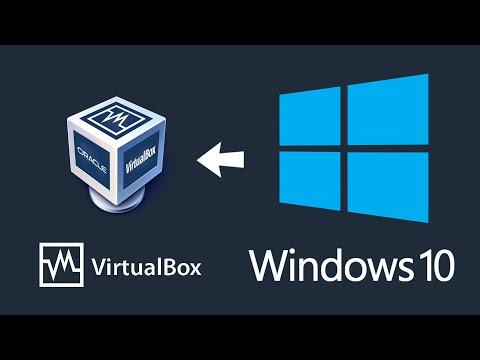 Download Installing Windows 10 In A Virtual Machine Using Virtualbox
