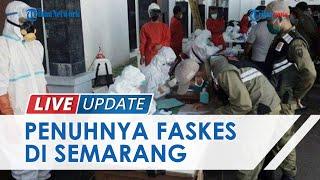 Kasus Covid-19 Melonjak, Rumah Sakit dan Pusat Karantina di Semarang Dipenuhi Pasien