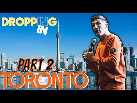 Somali Girl CIits, Homeless Natives, Bow & Arrow Dodgeball In Toronto | Dropping In #40 (PART 2)
