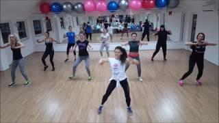 "Shakira Ft Maluma - ""Chantaje"" Zumba Fitness Choreography"