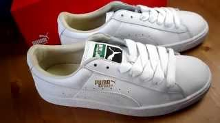 Puma Baskets Trainers Sneakers Unboxing June 2015