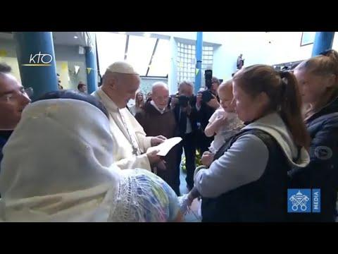 """""""Éliminer ce fléau"""": la détermination affichée du Pape"""