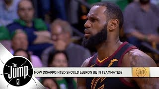 Should LeBron James be mad at Cavaliers? | The Jump | ESPN - Video Youtube