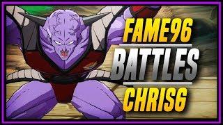DBFZ ➤ ChrisG VS Fame96 [ DragonBall FighterZ ]