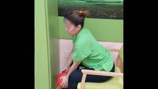 Movilidad tren superior con pelota