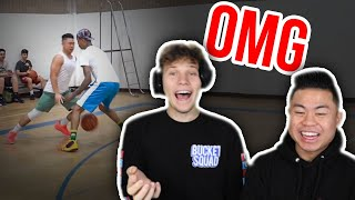Reacting to my 1v1 Basketball Against Flight with Jesser from 2HYPE!