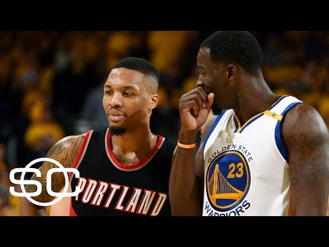 Damian Lillard Comments On Tweets With Warriors' Draymond Green | SportsCenter | ESPN