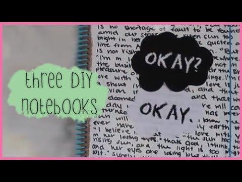 DIY Cute Notebook Ideas For School | Trusper