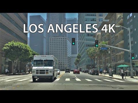 Drive 4K - Los Angeles Wilshire Boulevard - USA