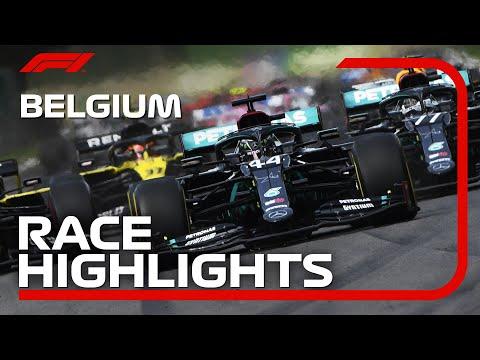 【動画】F1 2020 第7戦ベルギーGP(スパ・フランコルシャン)決勝ハイライト動画
